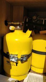 Plnící láhve na LPG 2x6kg, DuoControl